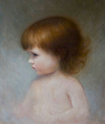A Portrait of my Daughter.  40cm x 50cm, oil on linen.