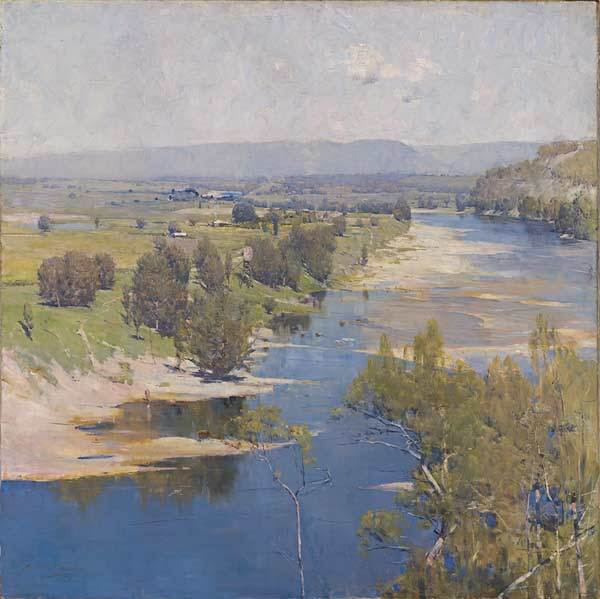 arthur streeton_the purpl moon's transparant might 1896