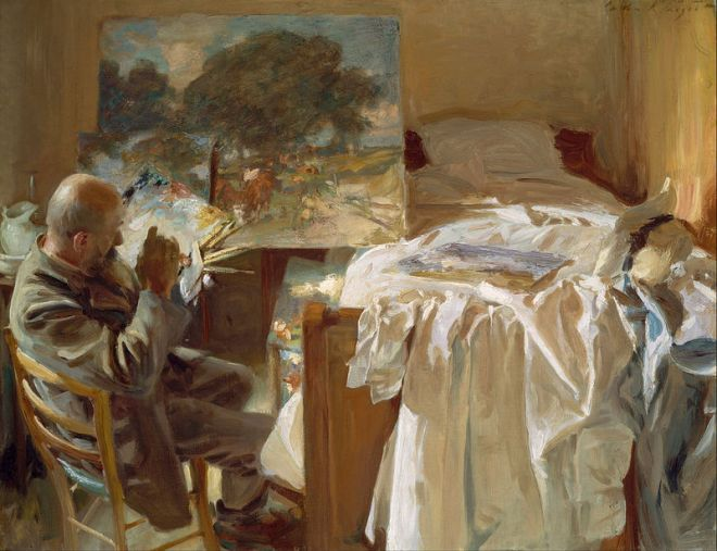 John_Singer_Sargent-An-Artist-in-His-Studio__1904
