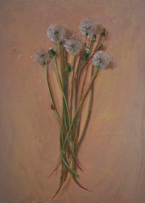 dandelionsladybird_annadennis_oilpainting